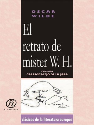 cover image of El retrato de mister W. H.
